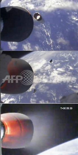 民間ロケット「ファルコン1」の打ち上げ成功、民間企業で初
