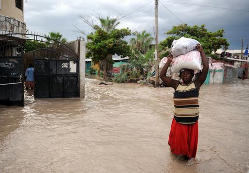 ハリケーン「アイク」、ハイチの死者66人に