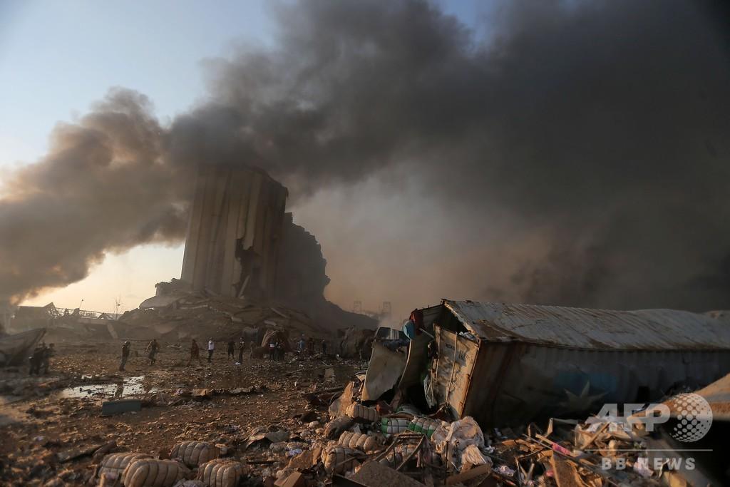 まるでこの世の終わり…レバノン首都、二重爆発の現場から