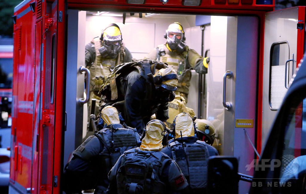 リシン製造で逮捕の容疑者「ドイツ初の生物兵器攻撃を準備」 警察幹部