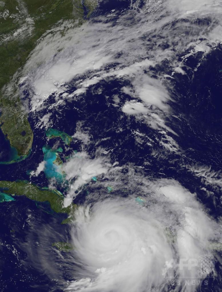 ハリケーン「マシュー」がカリブ海直撃、7人死亡 米南部も厳戒