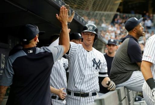 ヤンキースがMLB記録の28試合連続本塁打、先頭打者弾で達成
