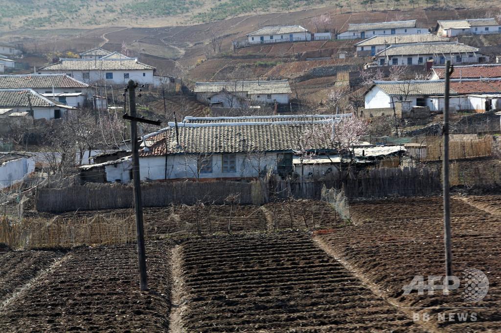 北朝鮮で「深刻な干ばつ」 今年の平均降水量、過去37年で最低に