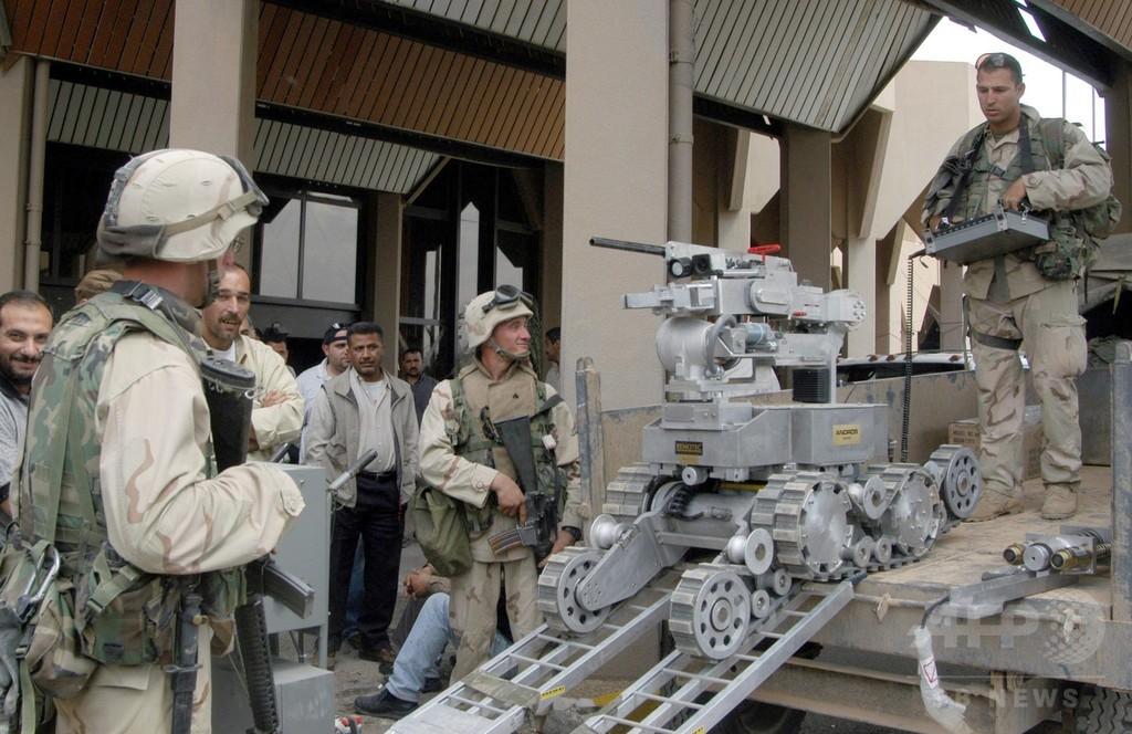 ダラス銃撃で「爆弾ロボット」初使用、警察の科学技術利用に変化