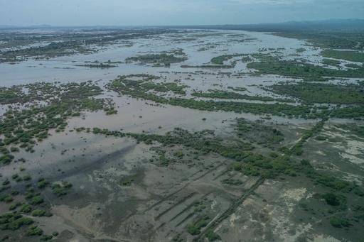 マラウイ南部の洪水被災地 56人死亡 約100万人が被災