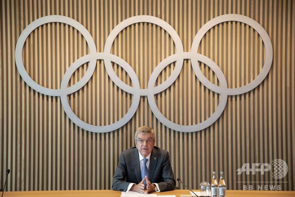 IOC会長、無観客での東京五輪に難色「われわれが望まないこと」