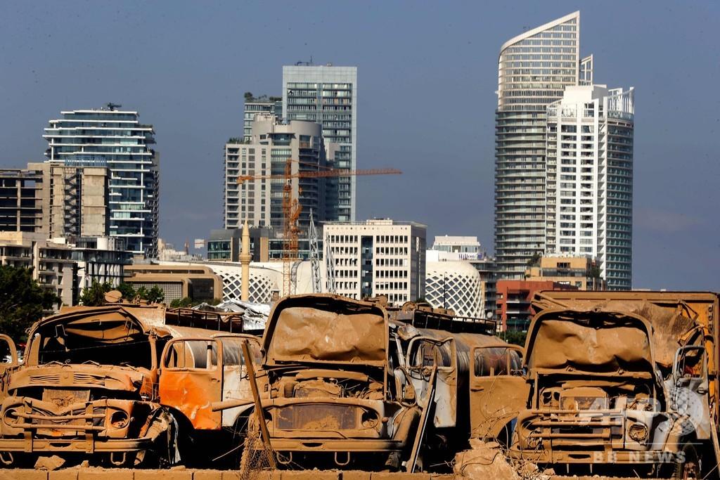 レバノン爆発、原因は「過失かミサイル攻撃」と大統領 国際調査は拒否
