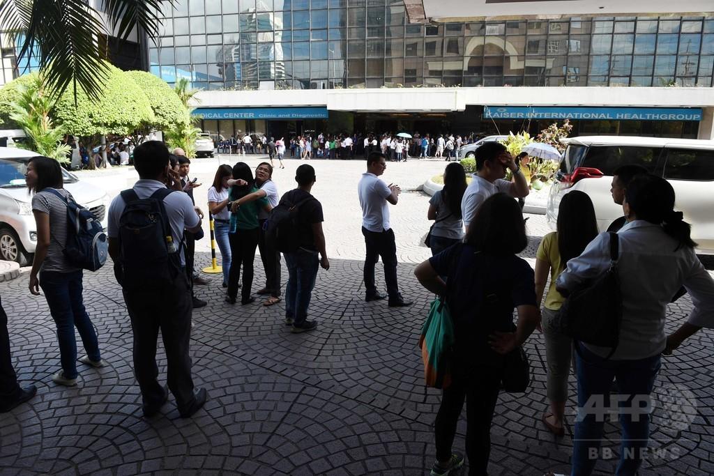フィリピン、30分間でM5以上の地震3回