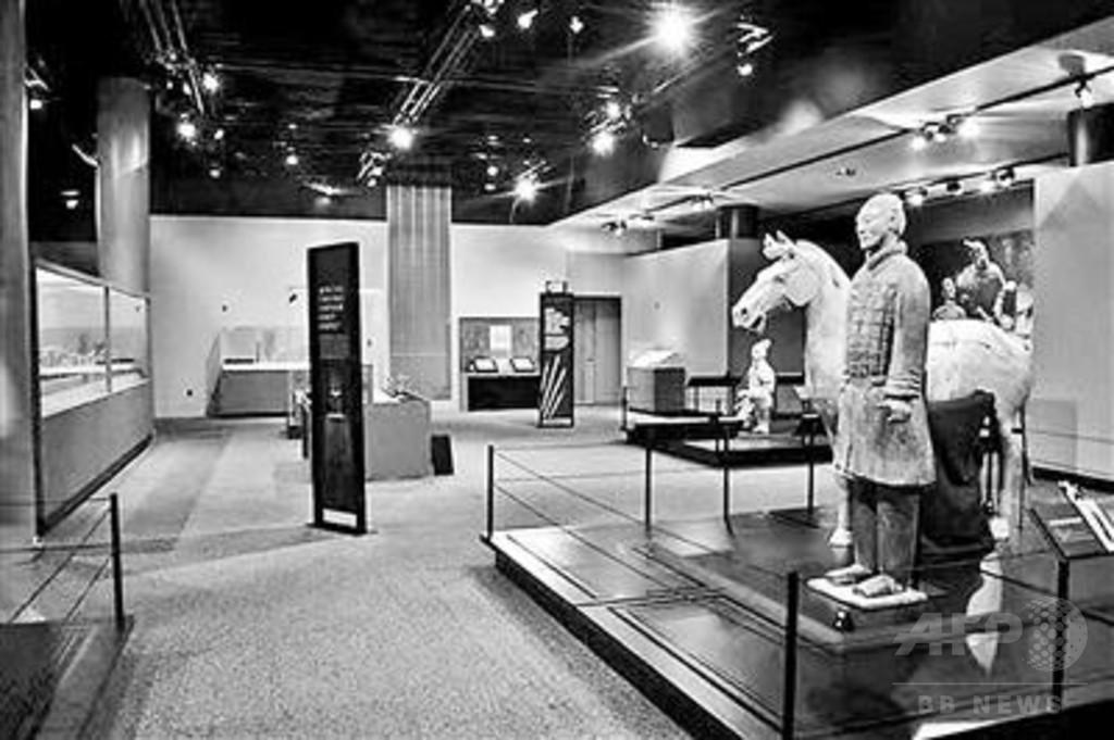 展示先の米博物館で兵馬俑の指折られる 「過去260回の海外展で初めて」