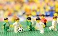 レゴブロックでサッカーW杯を再現、ドイツ人の力作動画が大ヒット