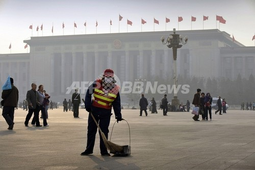 中国外相、北京の大気汚染への懸念を一蹴