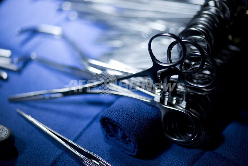 女性患者から23キロの腫瘍を摘出、20年放置 ブルガリア