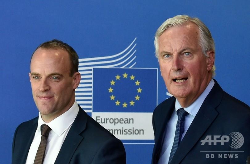 国際ニュース:AFPBB News英EU離脱交渉は「最終段階」 妥結へ協議加速で一致