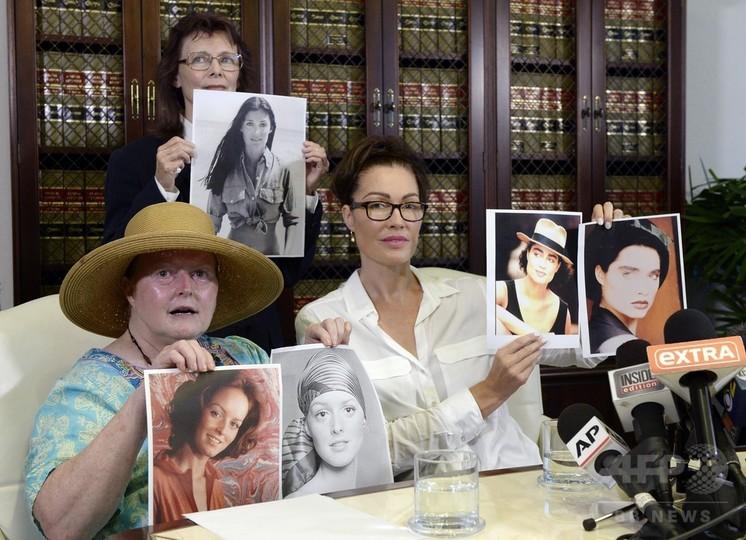 B・コスビーの性的暴行疑惑、新たに女性3人が証言