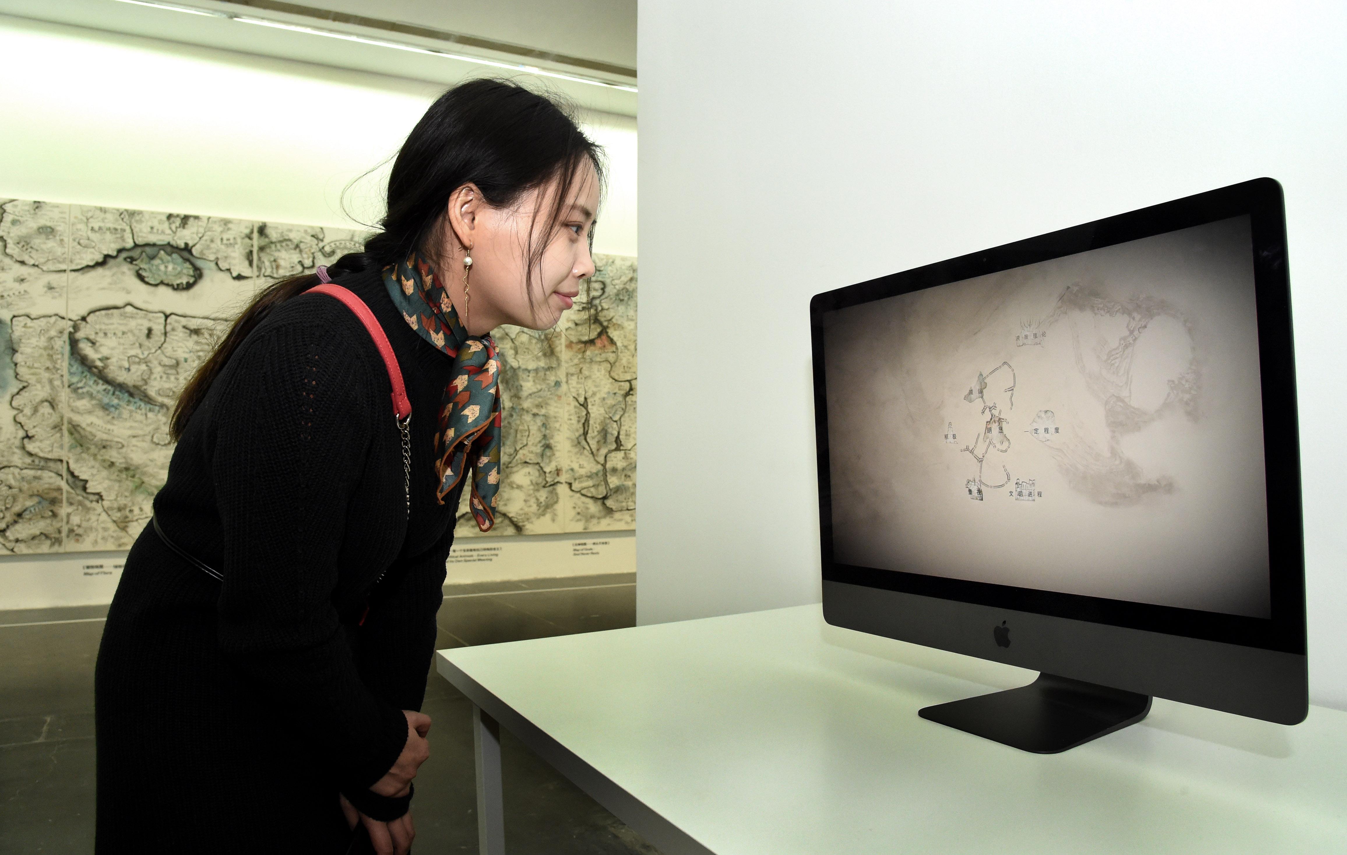 絵画アートにAI技術を応用 北京市