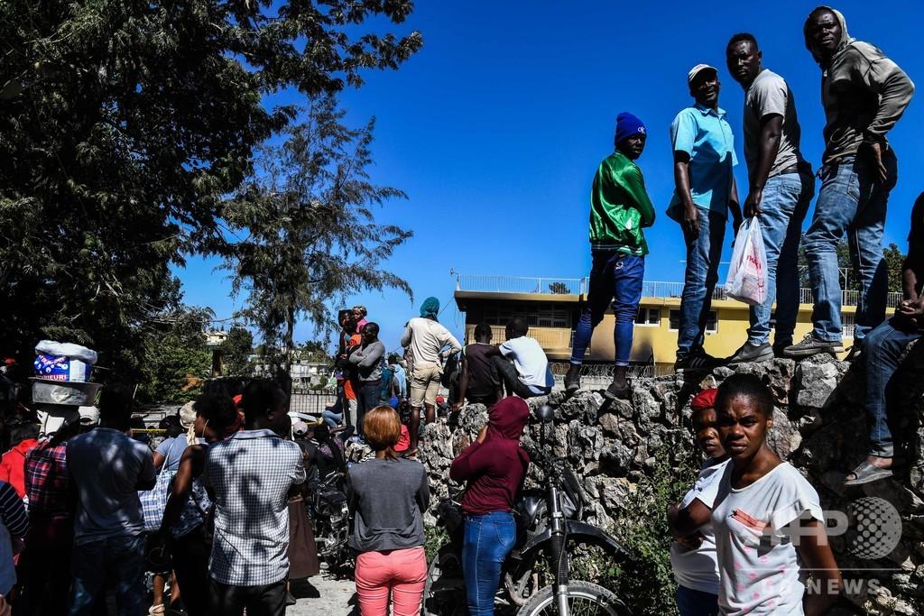 ハイチの無認可孤児院で火災、子供15人死亡 「動物のような暮らし」