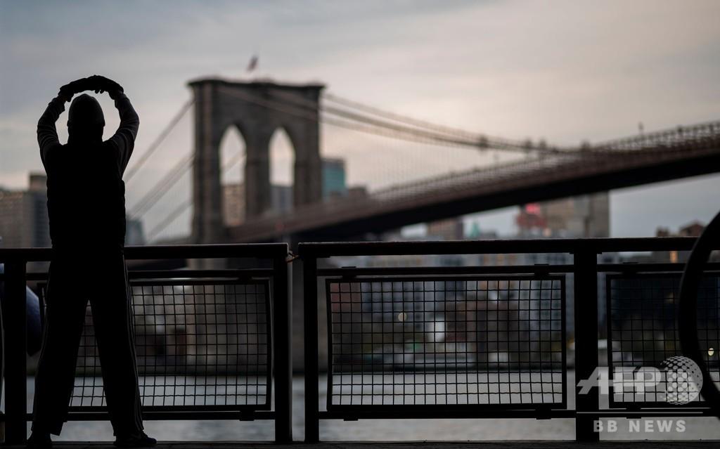 米NY市住民の5人に1人が新型コロナ感染か、抗体検査で