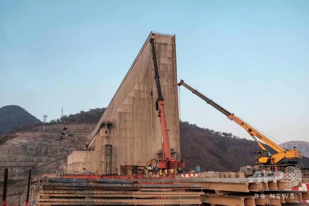 エジプト、ナイル川の巨大ダム協議で安保理に介入要請