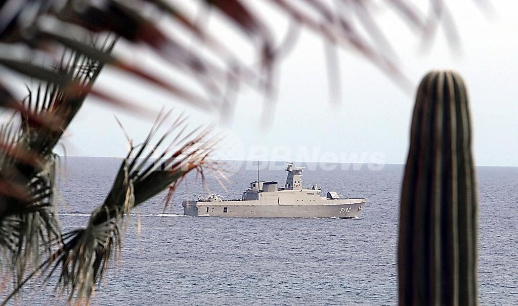 メキシコ沖で移民乗せた船舶が転覆 15人死亡、9人行方不明
