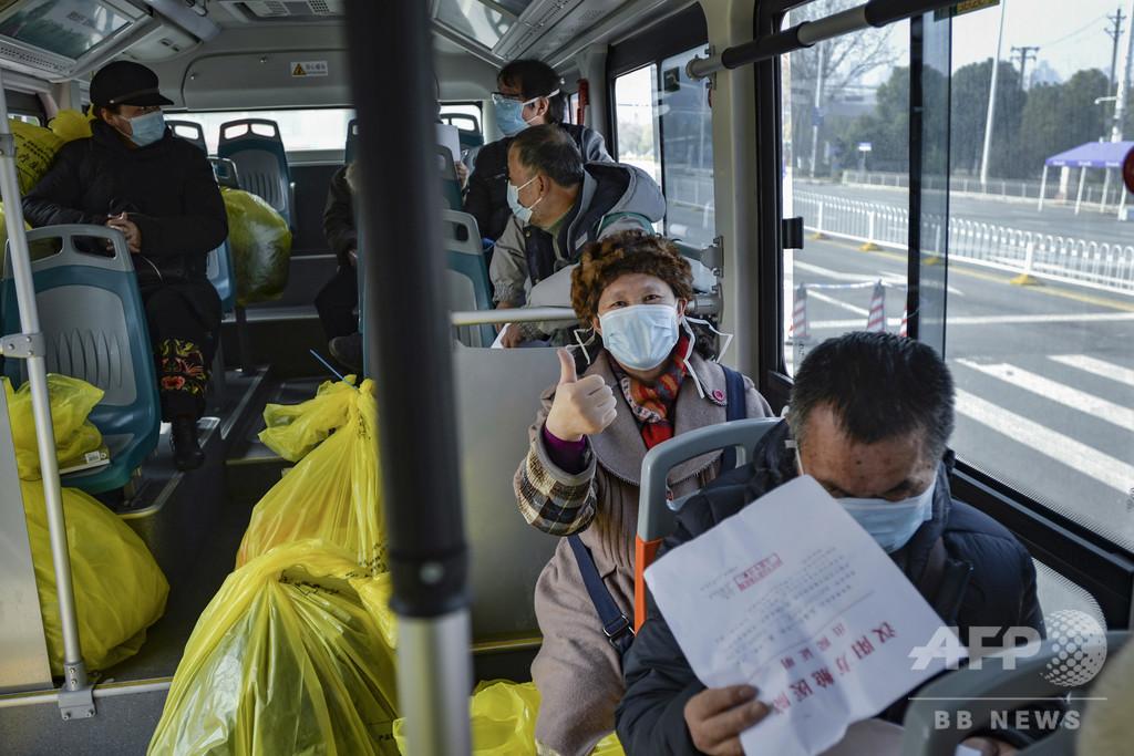 封鎖1か月 武漢市当局、市外移動を条件付きで容認