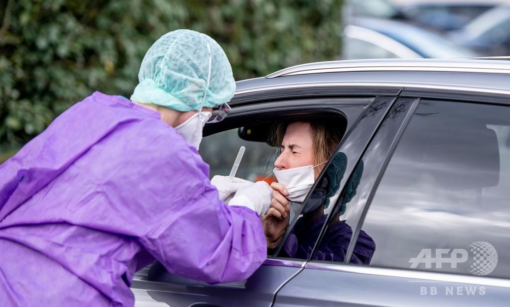 「早くて簡単!」新型コロナのドライブスルー検査、ドイツなど各国に登場
