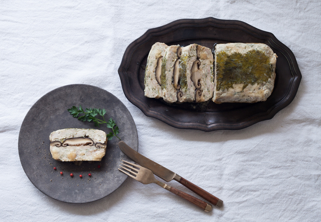 <La Cuillère de marie claire style>第45回 鶏肉と豆腐のパテ