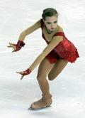 15歳のラディオノワが女子SP首位、エリック・ボンパール杯