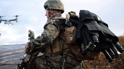 動画:米海兵隊、アイスランドでNATO軍事演習に参加