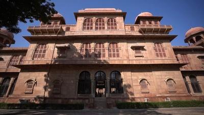 動画:砂漠に立つインド15世紀の豪邸「ハベリー」 倒壊の危機に