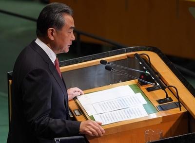 中ロ外相、トランプ氏の「脅し」を批判 国連演説