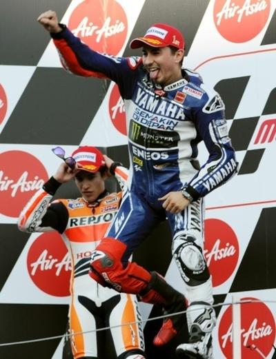 ロレンゾが日本GPで優勝、総合優勝の可能性残す