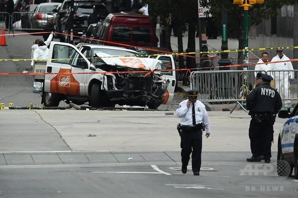 NY車突入容疑者「気分がいい」 テロ罪で訴追、ISに感化