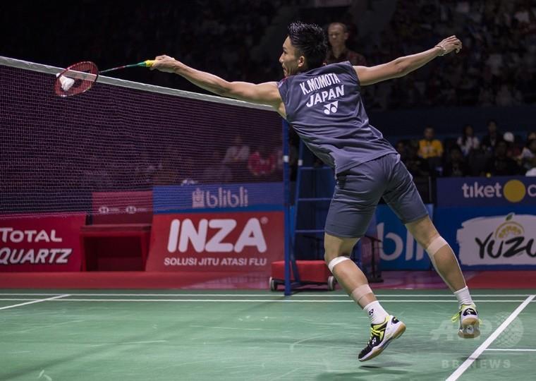 桃田がインドネシアOP決勝へ、前週敗れた相手に雪辱