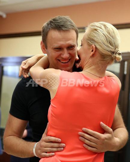 露裁判所、ナワリヌイ被告を予想外の釈放 モスクワ市長選出馬認める
