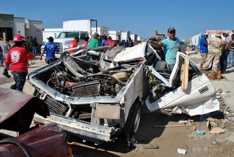 メキシコで竜巻、11人死亡 米南部では豪雨 死者3人