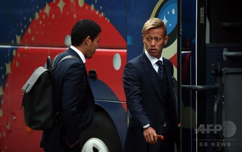 日本代表がロシア入り、19日にコロンビアと初戦