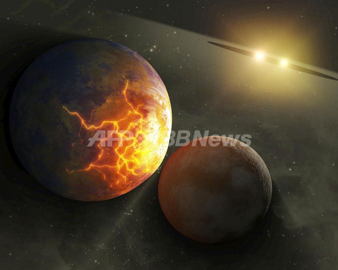 近接連星系の惑星、日常的に衝突か NASA