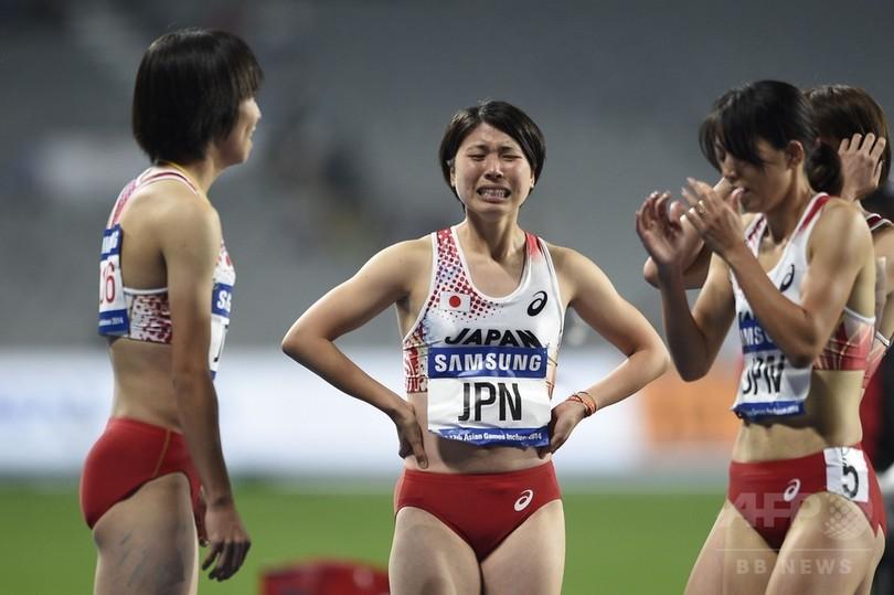 日本、女子4×400メートルリレーで銀メダル アジア大会