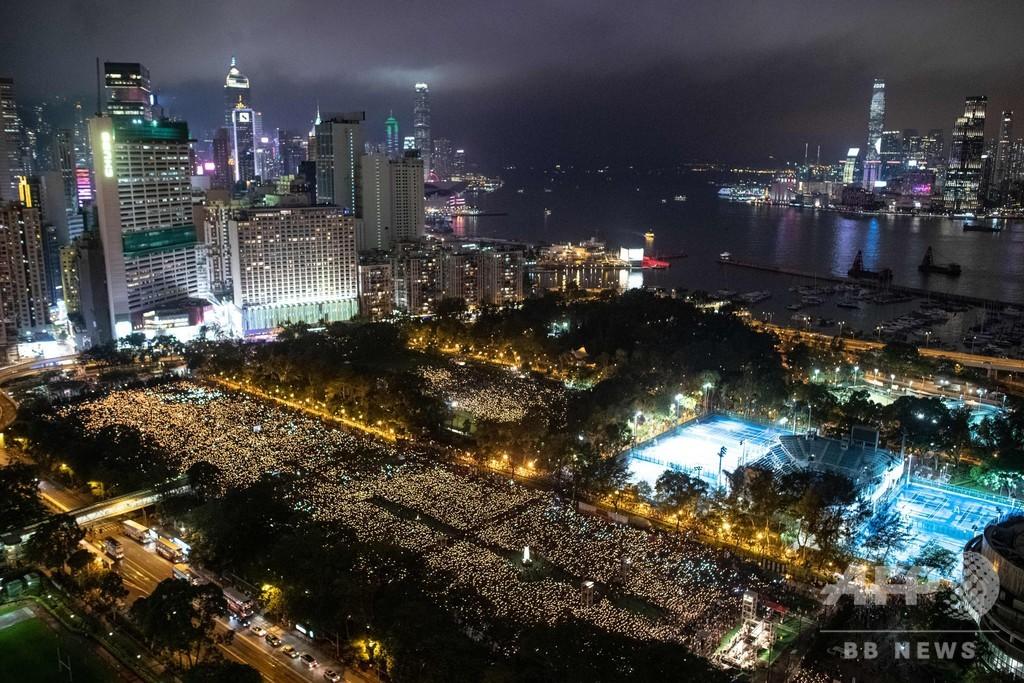 香港警察、コロナ理由に天安門事件の追悼集会認めず 過去30年で初
