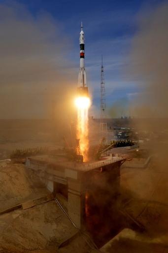 米ロ飛行士2人を乗せた宇宙船、ISSへ向けて打ち上げ