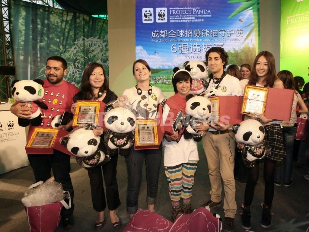 「パンダ守護使」に日本人、飼育体験を世界に発信