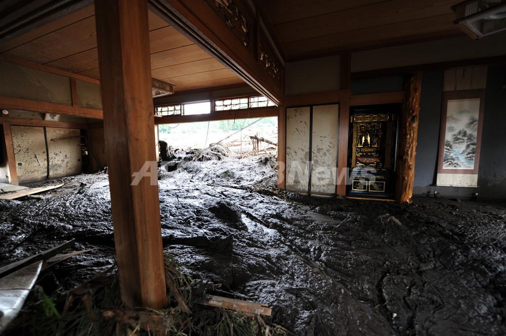 九州北部豪雨の爪痕、台風7号にも警戒を