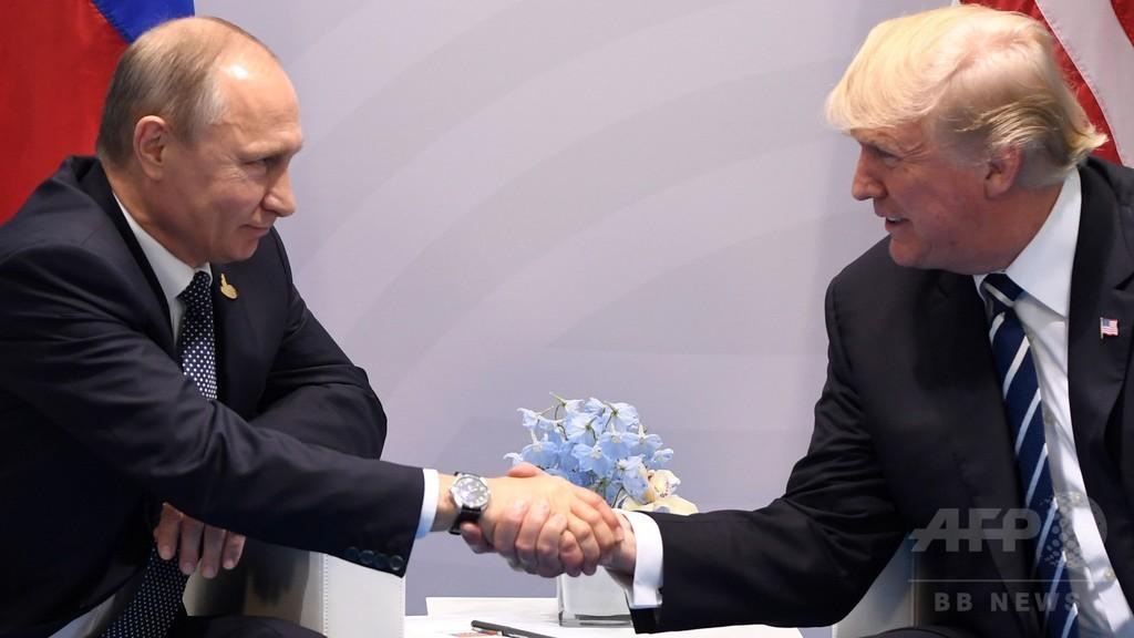 トランプ氏、ハッキング問題でロシアと「協働」表明