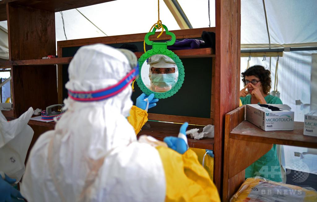 【AFP記者コラム】エボラウイルスと過ごした11日間