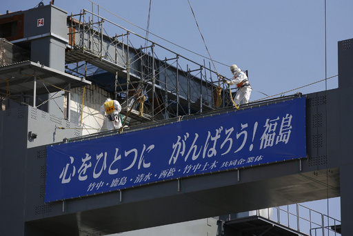 事故から2年、福島第1原発敷地内を公開 東京電力