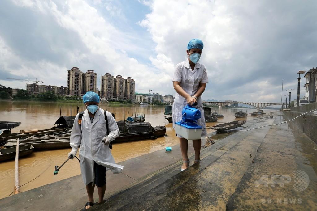 中国各地で豪雨被害 新疆ウイグル自治区では土砂崩れ、35人死亡