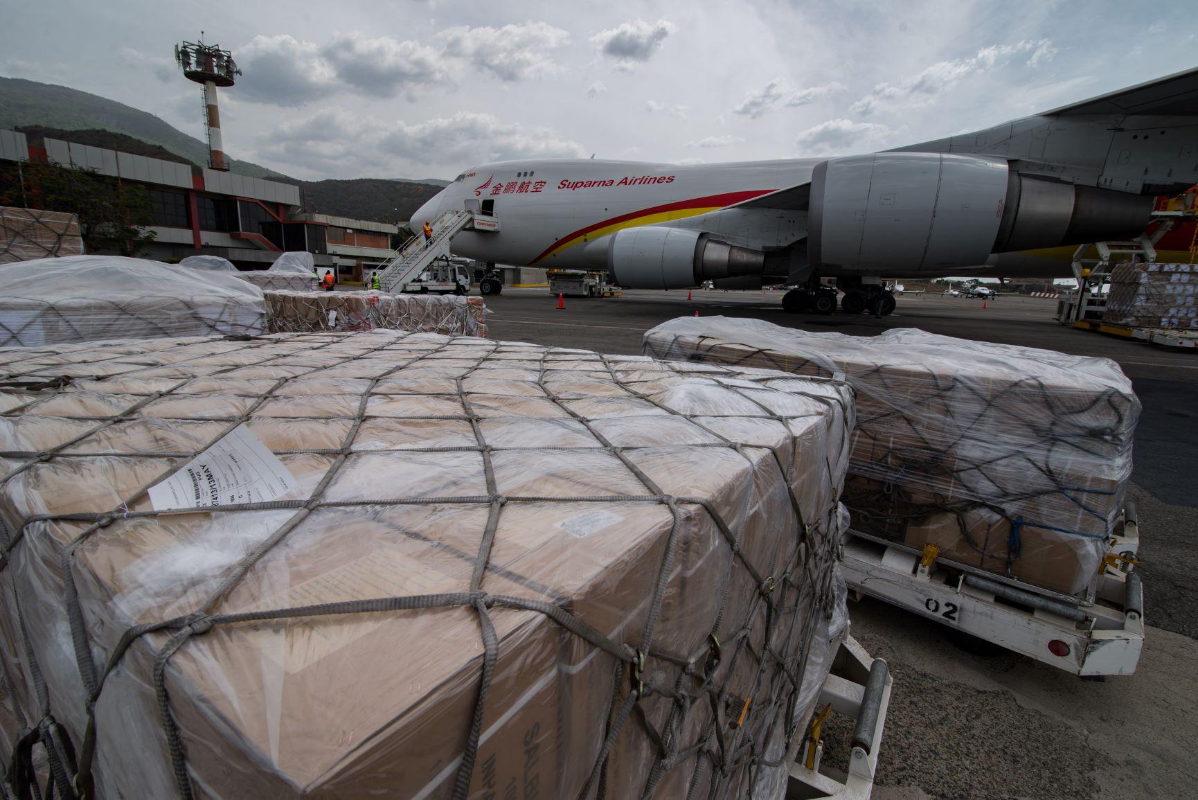 中国、ベネズエラに2回目の医療物資援助 71トンが現地到着
