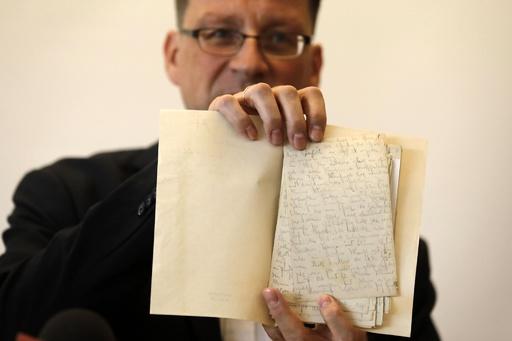 カフカの遺稿、イスラエル国立図書館が公開 長い法廷闘争の末