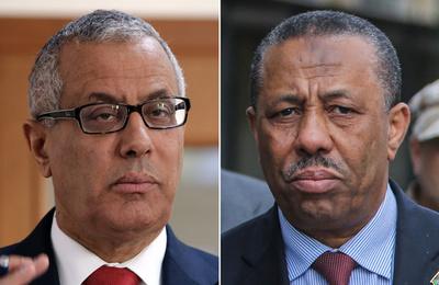リビア反政府勢力が占拠する原油タンカーが出港、議会は首相解任