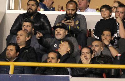 マラドーナ監督率いるメキシコ2部クラブ、前期リーグ決勝で敗れる